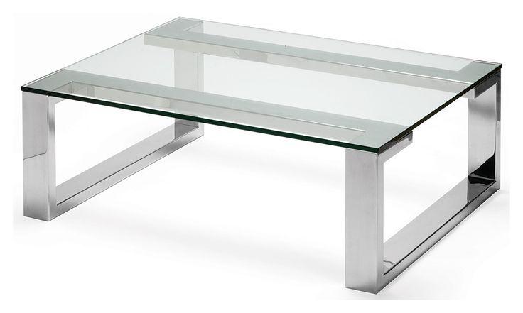 Glas Und Metall Couchtisch Мебель из стали, Мебель и