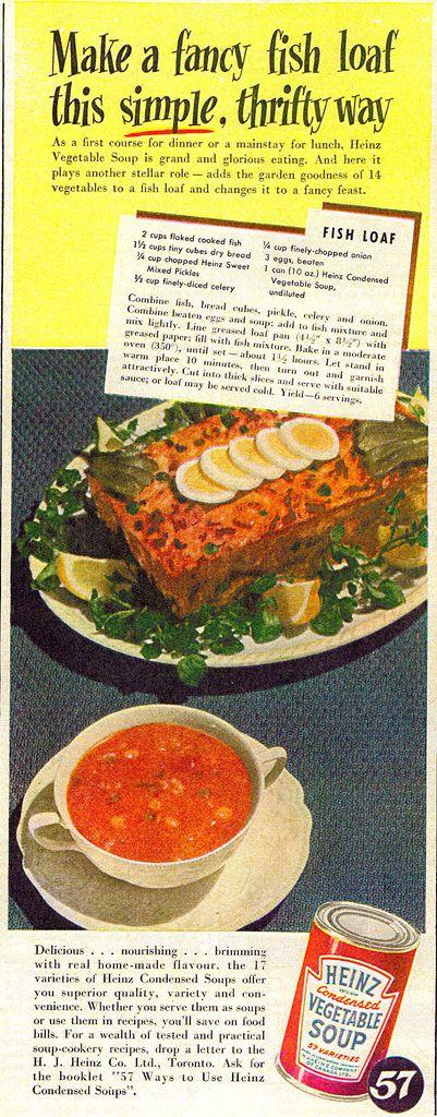 Heinz Vegetable Soup, 1949