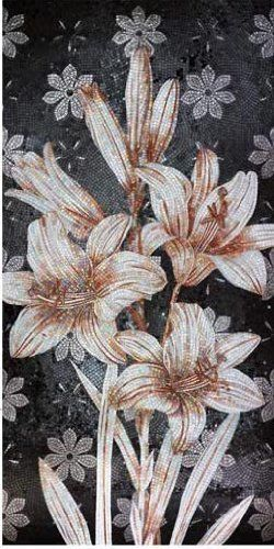 "40x84"" Beautiful Floral Marble Mosaic Wall Art Tile by Mozaico. $913.00. Mosaics have endless uses and infinite possibilities! They can be used indoors or outdoors, be part of your kitchen, decorate your bathroom and the bottom of your pools, cover walls and ceilings, or serve as frames for mirrors and paintings."