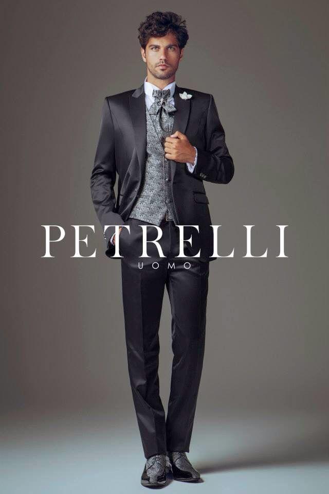 Abito da uomo man suit abito da sposo Collezione 2015 Petrelli Uomo