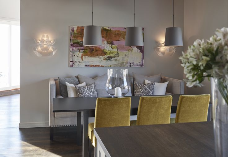 Dining room, Private Villa - Designed by Norwegian Interior Architect firm Metropolis arkitektur & design - www.metropolis.no