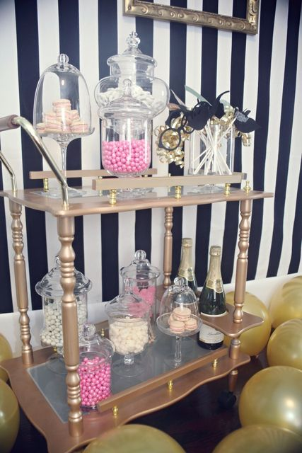 great gatsby party decorations | Great Gatsby Little Girls Birthday Party | Cute Ideas