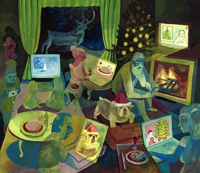 """""""The Holidays – People Looking at Screens""""  Brecht Evens"""