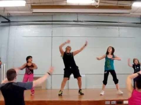 Zumbatomic routine to Danza Kuduro - YouTube