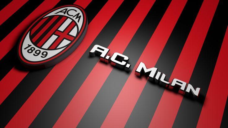 AC Milan Football Logo