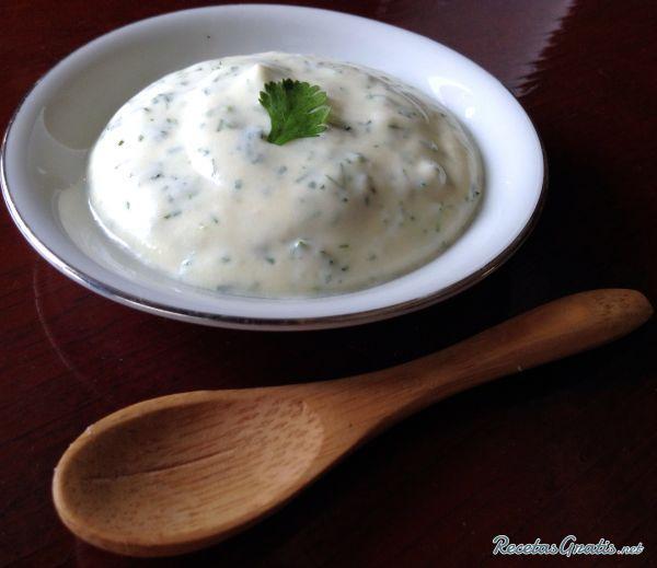 Receta de Aderezo de cilantro para ensaladas - Fácil