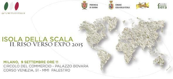Isola della Scala. Event about rice and Expo