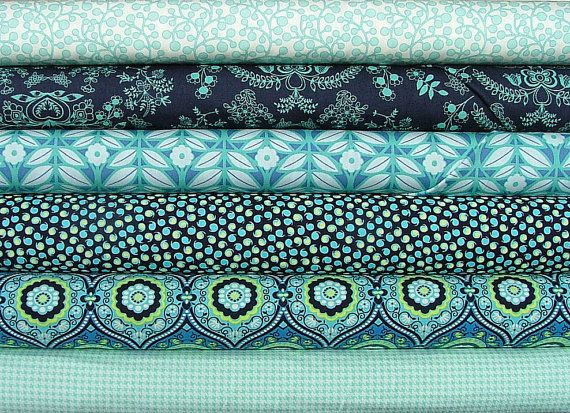 Amy Butler Lark Fat Quarter Bundle of 6 2 by SistersandQuilters, $14.64