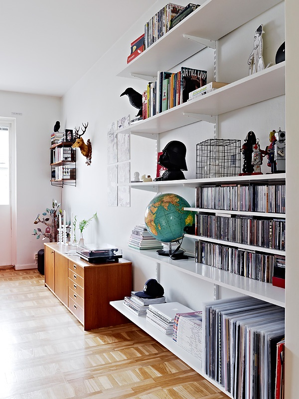 18 best elfa shelving living room images on pinterest container store elfa shelving and the. Black Bedroom Furniture Sets. Home Design Ideas