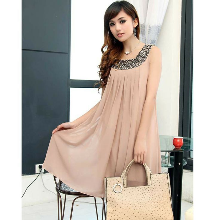 Spring new 2014 maternity clothing paillette Casual Dress For Pregnant Women Novelty Cute Chiffon blouses & shirts Free Shipping-in Dresses from Apparel & Accessories on Aliexpress.com