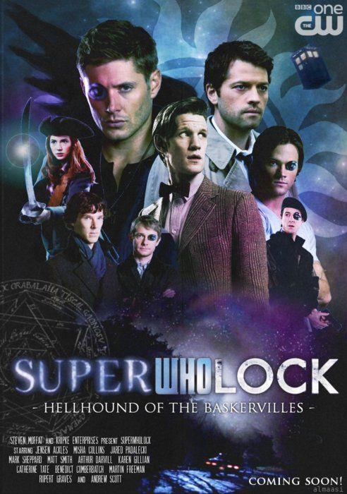 I'd watch it.Geek, Supernatural, Doctors Who, Random Stuff, Superwholock Crossover, Fandoms Collider, Sherlock, Funny Memes, Fandoms United