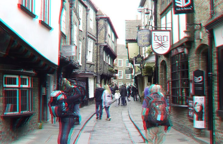 https://flic.kr/p/HCMkhi | York in anaglyphs | anaglyph stereo red/cyan