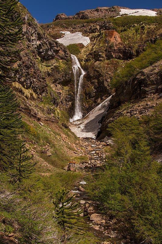 Cascada Escondida, Caviahue, Neuquén, Argentina