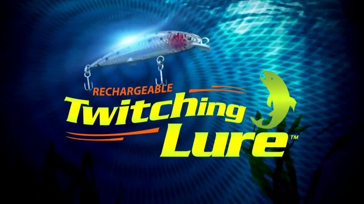 17 best images about twitching lure videos on pinterest for As seen on tv fishing lures