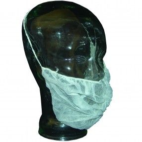 RONCO Beard Cover Non-Woven http://ca.en.safety.ronco.ca/products/26/66/105/ronco-beard-cover RONCO non-woven beard covers are made from polypropylene with a non-binding latex-free elastic band. They are ideal in clean or HACCP compliant work environments to prevent facial hair from contaminating food or other products. Light and breathable, our beard covers offer a secure fit and maximum comfort during long wear.