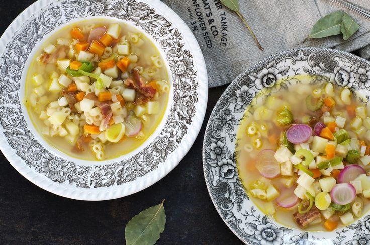 Fru Timian | En matblogg med deilig mat for hele familien | Årest beste grønnsakssuppe!