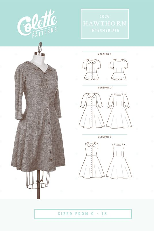 Hawthorn by Colette Patterns