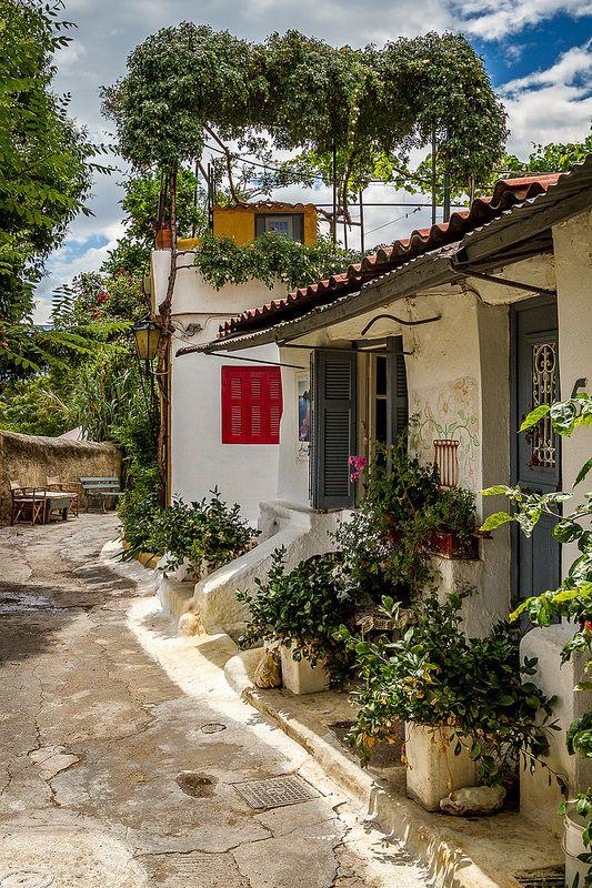 Anafiotika - Athens - Greece | Flickr - Photo Sharing!