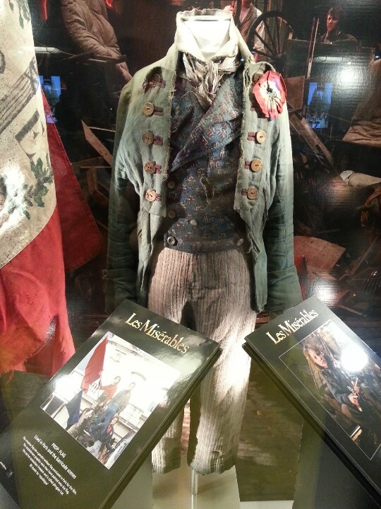 Gavroche's costume, Les Miserables (2012) - WHERE IS THIS ON DISPLAY?!?!?!