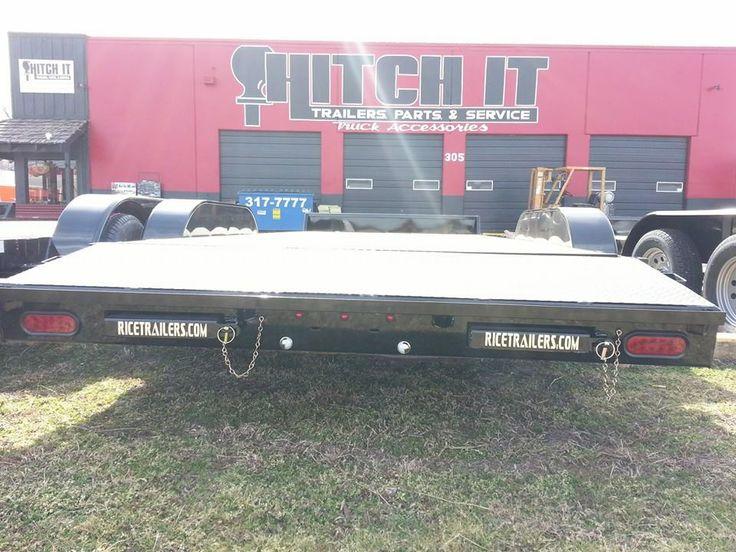 18' Car Hauler Utility Trailer Oklahoma Hitch It Trailer Sales ...