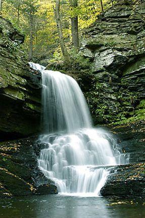 Bushkill Falls - The Niagara of Pennsylvania
