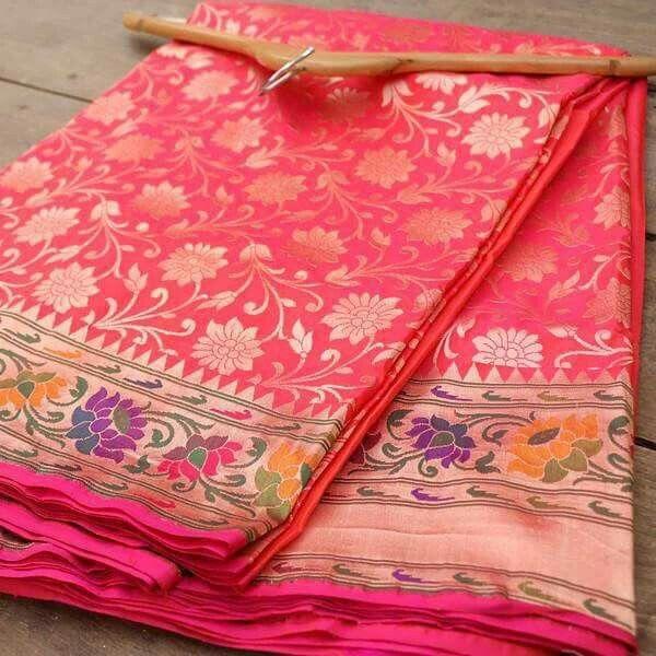 Beautiful banarasi paithani saree - Tilfi Banaras
