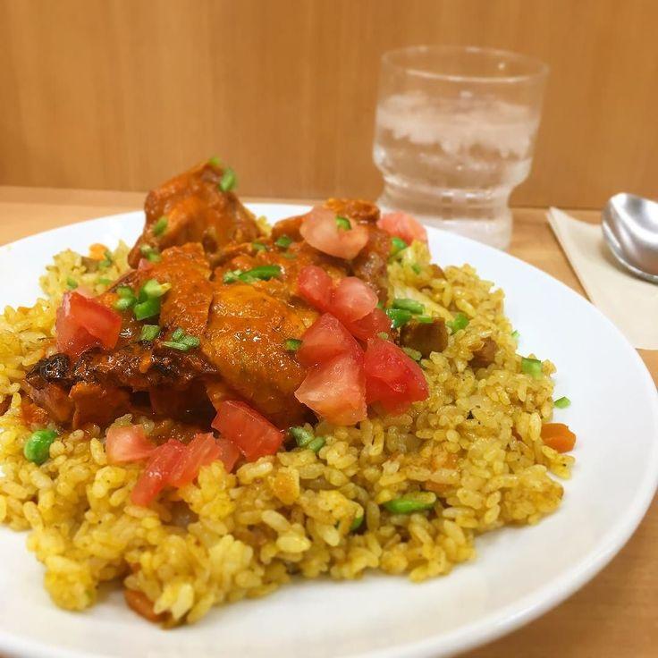 タンドーリチキンドライカレー 水曜日のお楽しみ #デリー #カレー #curry #上野 #湯島