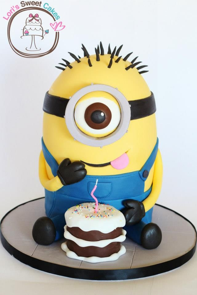 Minion Cake was made by Lori's Sweet Cakes . This Despicable Me Cake ...