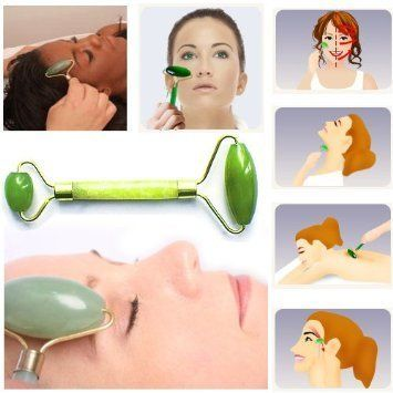 Jade Roller Massager -Rejuvenates Face and Neck - have you used one? Should we try?