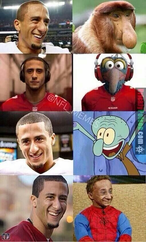 LMAO....Kapernick meme, not a fan of Winers...Lol Cowboys for life.