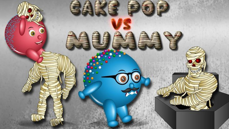 Cake pop vs Mummy finger family | Many More Nursery Rhymes Collection fo...
