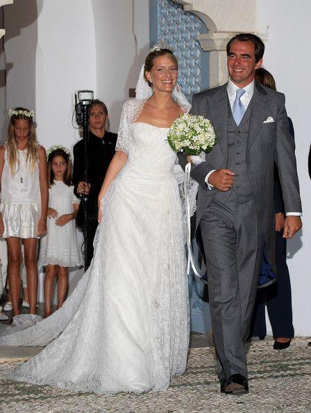 Prince Nikolaos of Greece and his bride Princess-Tatiana (cousins to the Spanish royals)