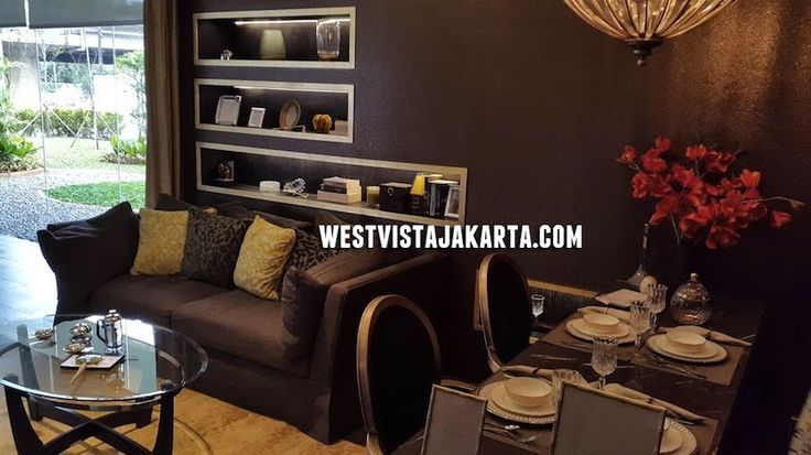 Show unit living room West Vista Jakarta Barat apartment #showunitwestvista #designinteriorapartment