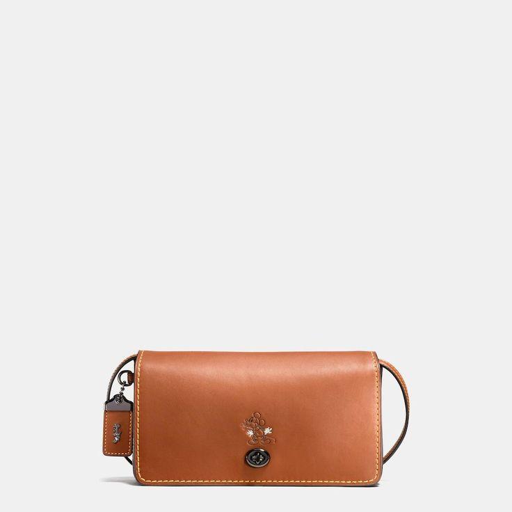 Disney x Coach patched Duffle 12 bag - Brown Coach 6jzSrMcjLa