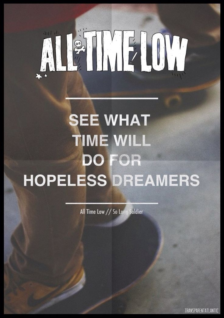 So long soldier - All Time Low