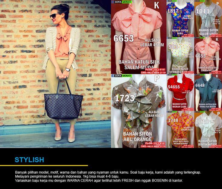 Hubungi yang Jual Blouse Kerja Wanita Murah yang cantik, modis dan elegan ini di  PinBB : 7d20d94c