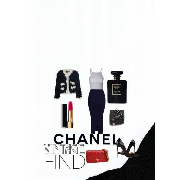 Untitled #13 by georgiahondromara on Polyvore featuring polyvore beauty Chanel Glamorous Christian Louboutin