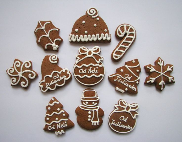 Christmas Gingerbread with wishes
