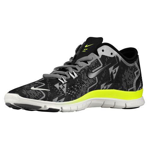superior quality 0ece0 d1e54 Women Nike Free 5.0 TR Fit 4 Black Light Ash Medium Ash Ivory Trainer Shoes,