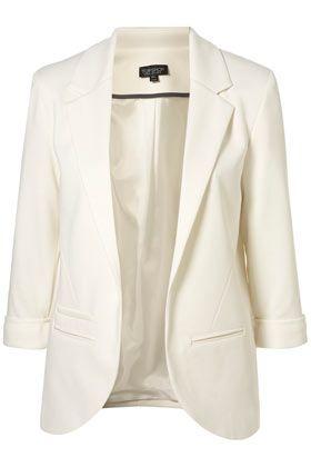 Love this ivory blazer
