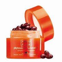 Phytosolaire Hydratation PhytoPlage - Produits protection solaire - Un complément alimentaire, au lycopène et à la lutéine, riche en caroténoïdes issus d'huile de palme rouge et d'oléorésine de tomate, qui stimule le bronzage. Les huiles d'olive et de bourrache...