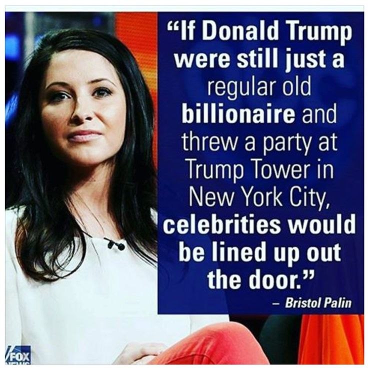 Because Bristol Palin is relevant why? Because she's another giant hypocrite republican?