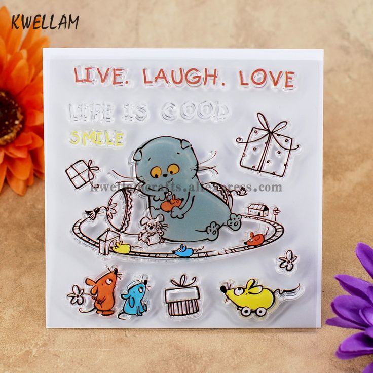 Cheap clear stamps, Buy Quality rubber stamp directly from China transparent stamp Suppliers: LIVE LAUGH LOVE LIFE IS GOOD Scrapbook DIY photo cards account rubber stamp clear stamp transparent stamp 10.5x10.5cm KW7050417