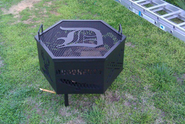 Outdoor Fireplace Welding Project : Miller welding projects idea gallery fire pit grill