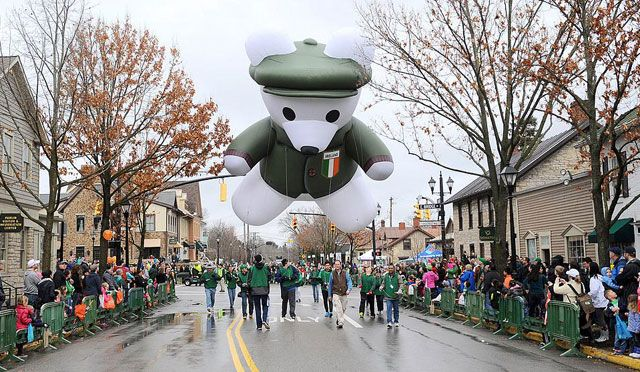 Join us for the Greenest, Grandest St. Patrick's Day Parade in Dublin, Ohio, USA on Saturday, March 15, 2014.