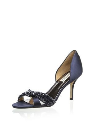 51% OFF Badgley Mischka Women's Ryanne Pump (Navy)