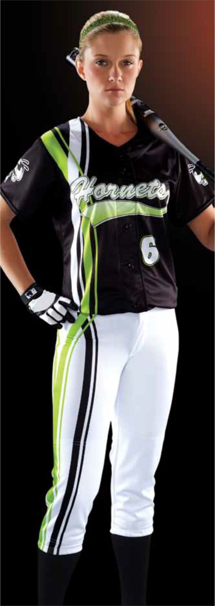 softball unifrom styles   Dual Carbs Women's Sublimated Softball Jersey Teamwork ProSphere