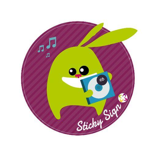 Des étiquettes autocollantes pour un marquage tendance et discret ! http://www.signoo.com/fr/28/sticky-sign-60-autocollants.html