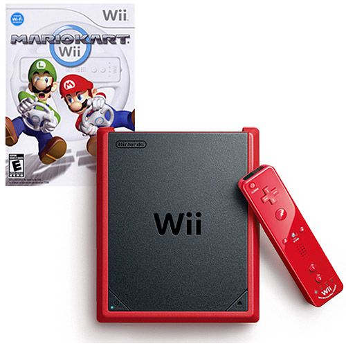 Nintendo Wii Mini Red with Mario Kart On Sale $99.96 + Free Shipping @ Walmart - HotDeals Check us out at www.hotdeals.com or on FB! www.facebook.com/hotdealscom