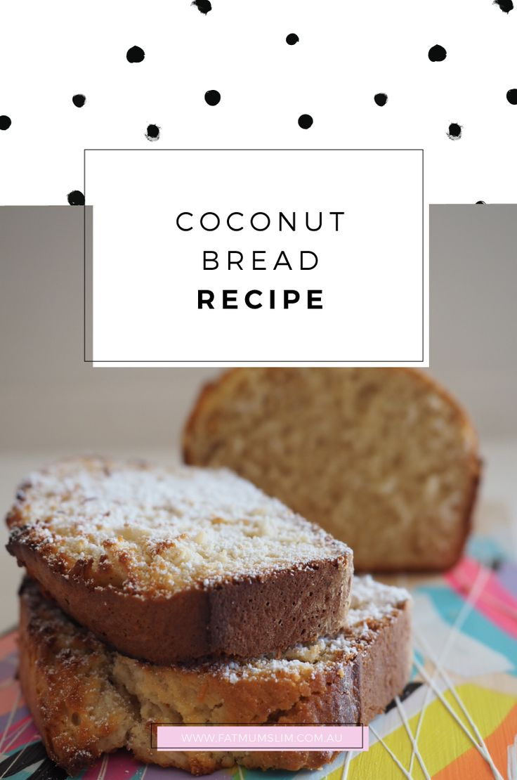 Forget banana bread, and say hello to this easy coconut bread recipe by Bill Granger! Cut into thick slices, toasted and slather in butter.